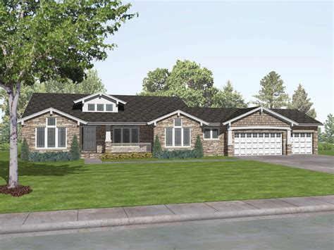 Craftsman Style Ranch House Plans Rustic Craftsman Ranch Craftsman Ranch House Plans