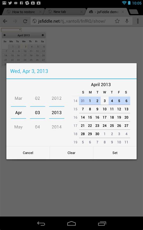 html input pattern for date jquery ui widgets vs html5 tj vantoll