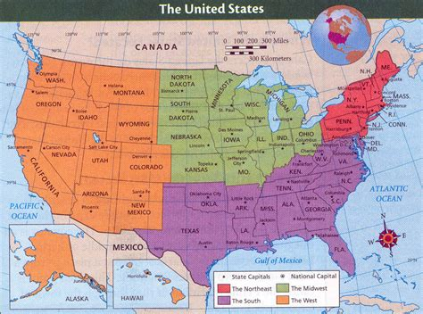 the map of the united states hymark high spots four pieces