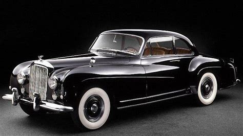 bentley old dynamic black 1955 bentley continental r type car photo