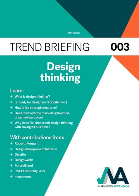 design thinking slideshare marketing design thinking
