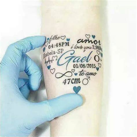 tatoo en la mano nombre thiago 10 fabulosos tatuajes para llevar a tus hijos contigo todo