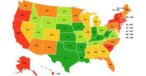 cheapest city in usa these are the most affordable states in america