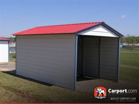 Metal Roof Carport Prices 1 Car Metal Carport 12 X 21 With Vertical Roof Get