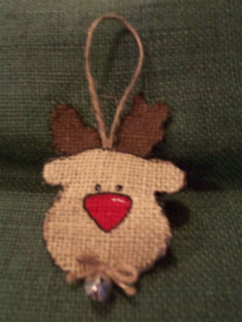 25 best ideas about burlap christmas ornaments on