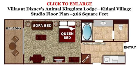 Disney World Floor Plans - review kidani at disney s animal kingdom villas