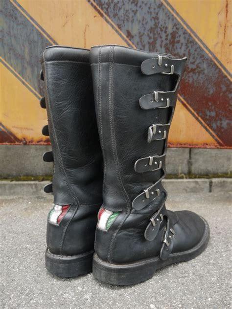 vintage motocross boots alpinestars vintage motocross boots made in italy