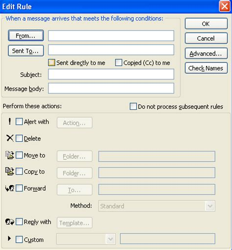 away message template how to set away message in outlook