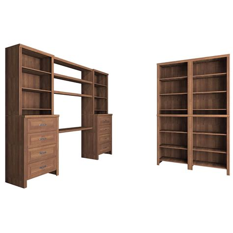 closetmaid selectives 83 in h closetmaid impressions 83 in h x 148 in w x 19 65 in d
