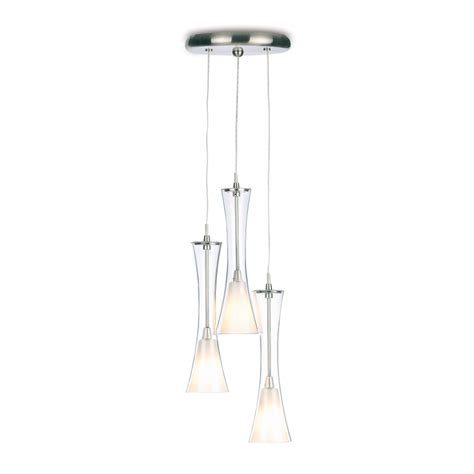 endon 871 3p 3 light ceiling pendant endon 3 light