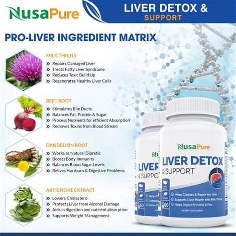 Is Liver Detox For You by Liver Support Detox Cleanse Supplement With Milk Thistle