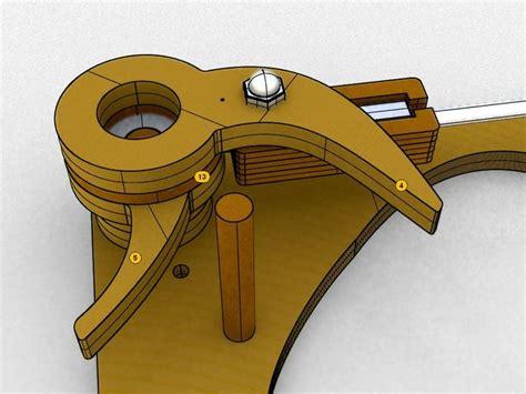 galileo wooden escapement mechanism wooden wooden clock