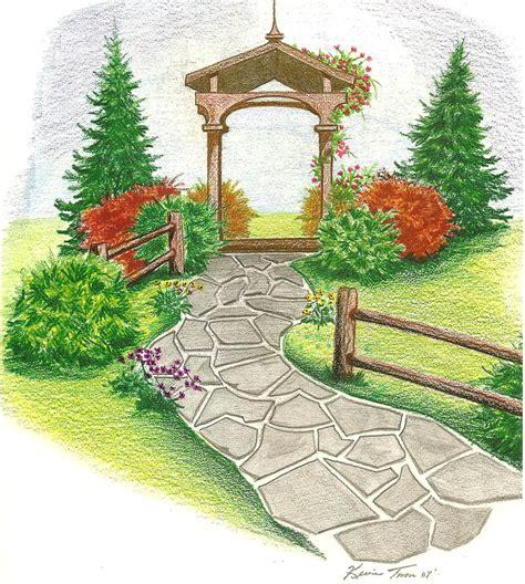 garden drawing metz flickr