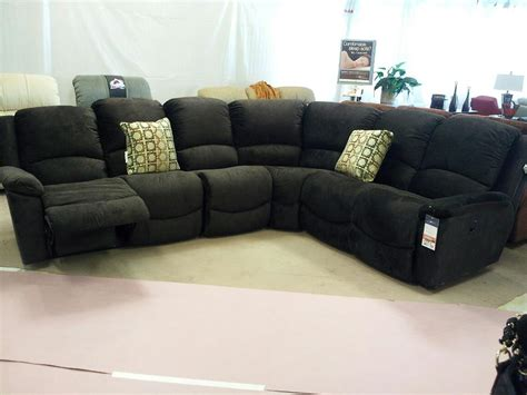 Sectionals With Recliners In Them Lazy Boy L Shaped Sofa Furniture La Z Boy Recliner Lazyboy Sectional Large Sectionals Thesofa