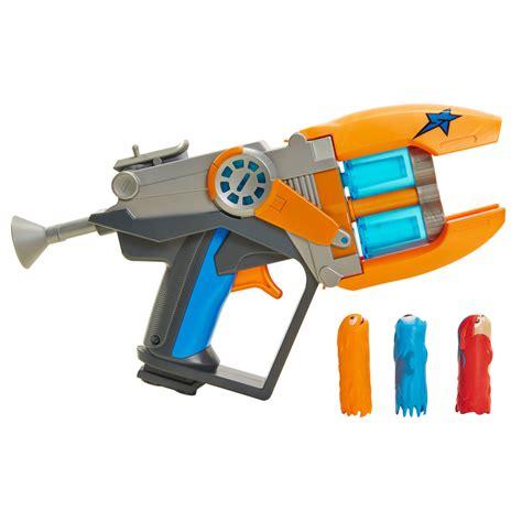 Lego Table Toys R Us Pistolet Slugterra Blaster Double Canons Et 3 Slugs
