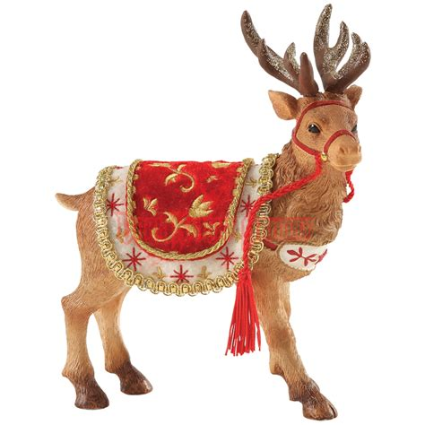 Western Home Decor Pinterest santa s reindeer christmas figurine by possible dreams