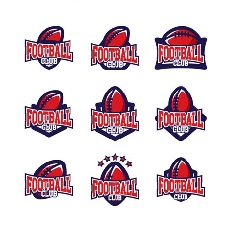 football design template football logo vectors photos and psd files free
