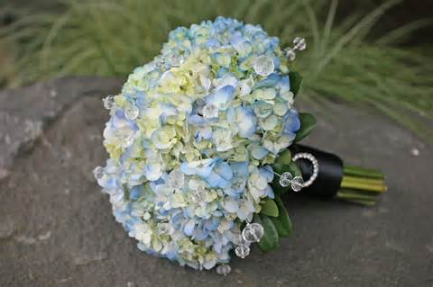 hydrangea wedding bouquet blue and white wedding bouquets bb0626 blue hydrangea bridal bouquet with crystals