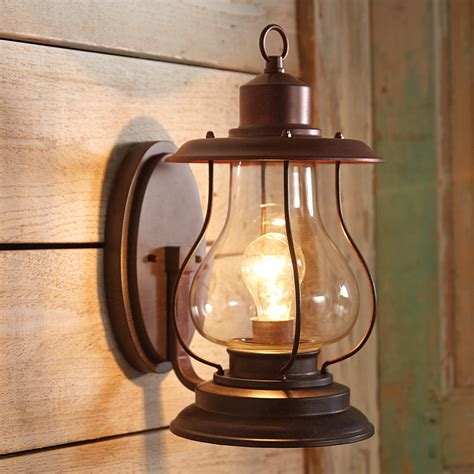 Lantern Wall Sconce by Weathered Patina Lantern Wall Sconces
