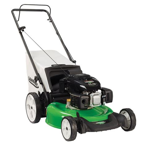 lawn boy 21 inch high wheel push gas lawn mower with