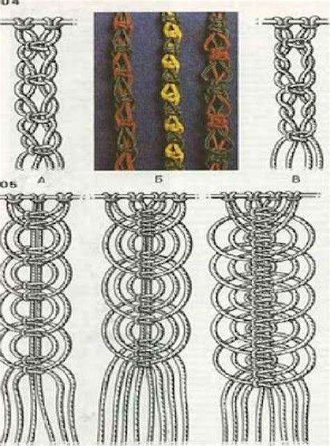 Different Hemp Knots - best 25 macrame knots ideas on macrame