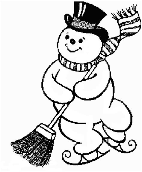baby snowman coloring page coloring page christmas snowman coloring pages 6