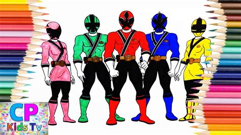 color of power power ranger colors mmpr coloring pages coloring home