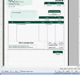 how to change invoice template in quickbooks quickbooks invoice templates free printable templates free
