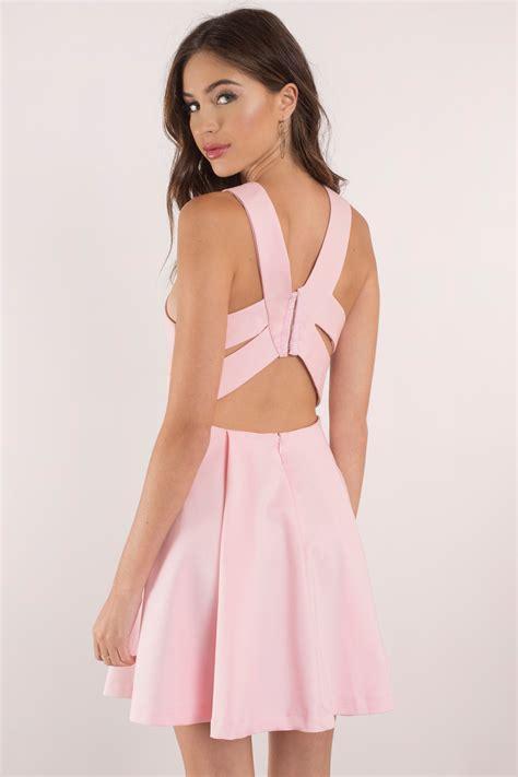 sexy blush dress plunging dress beautiful pink dress