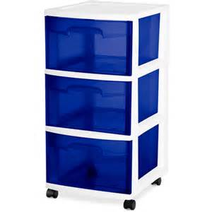 sterilite 3 drawer cart walmart