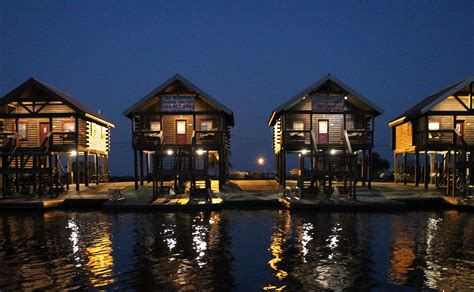 Cabins On The Water by Fishing Vacation Log Cabins On The Water Near Venice Louisiana