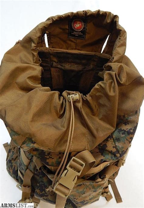 usmc pack for sale armslist for sale trade genuine u s marine corp ilbe pack 2 assault pack and