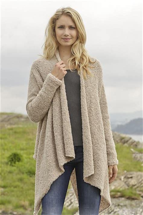 drape pattern drape front cardigan knitting pattern long sweater jacket