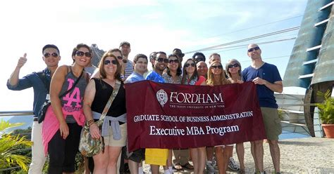 Fordham Mba Information Session by Fordham Notes Executive Mba Students Give Businesses