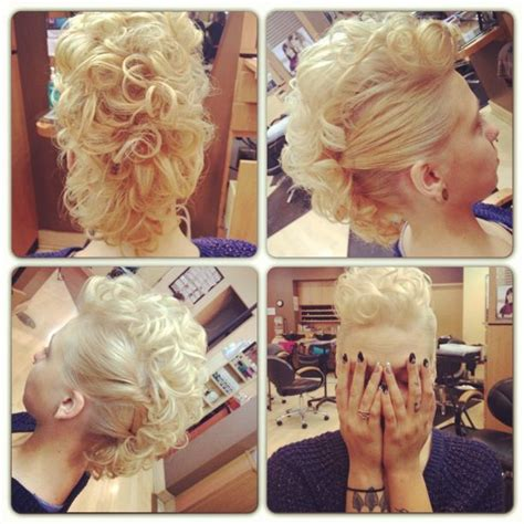 sidecut updo ideas 70 most gorgeous mohawk hairstyles of nowadays curly