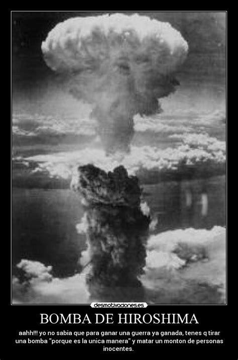 imagenes reales bomba hiroshima bomba de hiroshima desmotivaciones