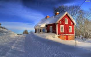 house in the snow snowed in houses wallpaper wallpaper wide hd