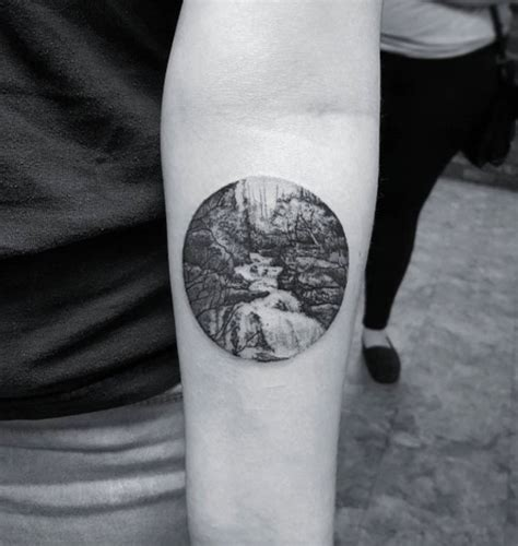 black and grey landscape tattoos 38 gorgeous landscape tattoos inspired by nature tattooblend