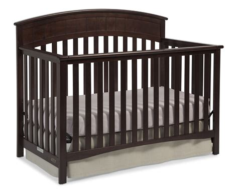 convertible crib espresso graco charleston convertible crib espresso