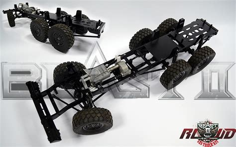 R C Rock Crawler 4wd Offroad 4x4 Rally Car 1 16 rc4wd beast ii 6x6 truck kit