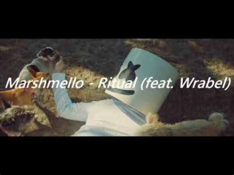 marshmello ritual marshmello ritual ft wrabel official audio youtube