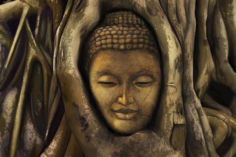 buddha wall mural ideal locations to hang buddha wallpapers walls and murals
