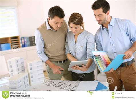 architects and their work architects at work royalty free stock photos image 31545878
