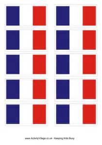france flag printable