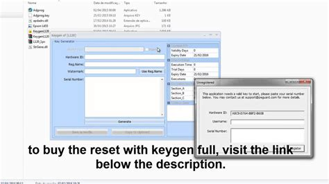 reset key printer epson l1300 reset epson with keygen full l1300 l1800 l365 l565 l655