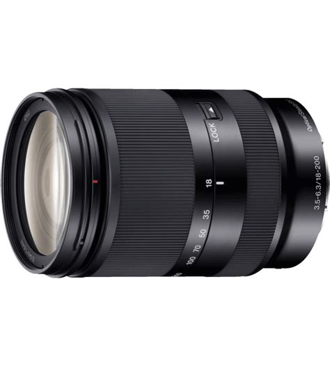 Sony E 18 200mm F 3 5 6 3 Oss Le sony 18 200mm f 3 5 6 3 oss zoom le e mount lens new model