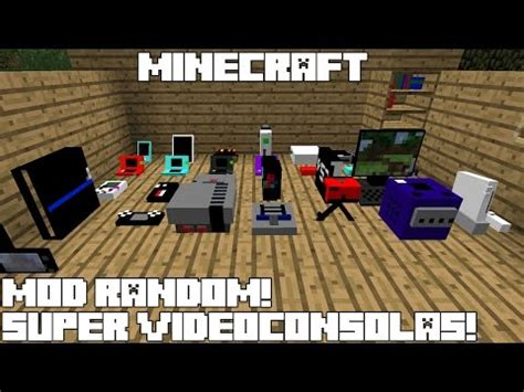 game console mod minecraft 1 7 10 decorative videogame systems mod download