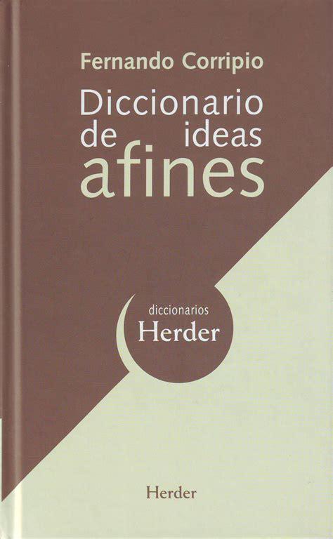 opiniones de diccionario de ideas afines