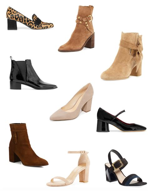 7 Heels For Fall by The Zhush Falling For Block Heels