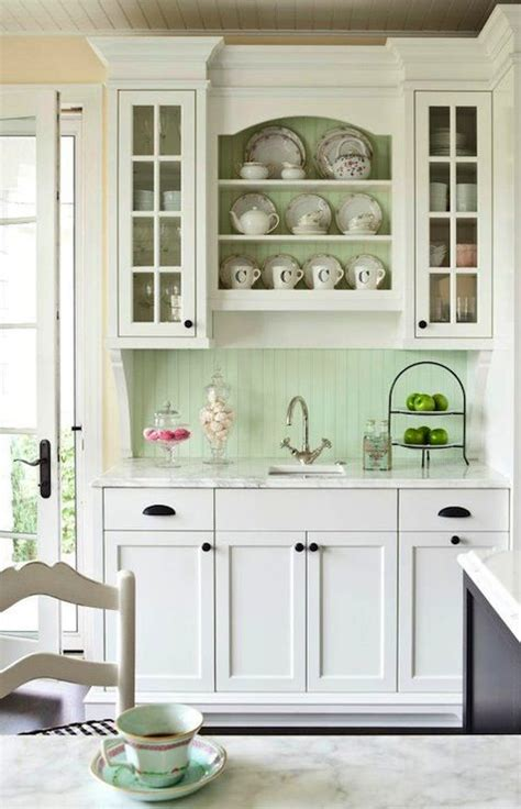 beadboard with trim kitchen inspiration pinterest vintage look kitchen with cabinets painted in benjamin